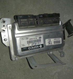 Блок управления двигателем Акцент