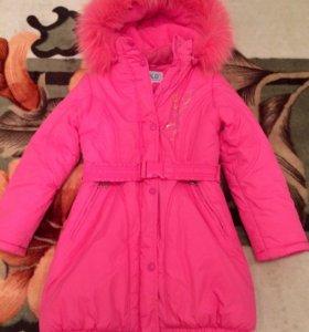 Курточка зимняя на девочку