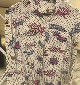 Рубашка MOHITO 42 размер