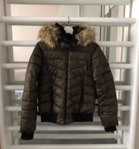 Пуховик-куртка bershka