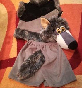 Костюм волка на Новый год