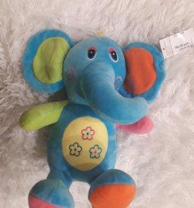 Игрушка слон 30см