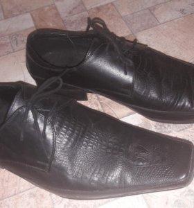 Шикарные мужские туфли!!!!!!!
