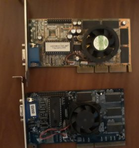 две видеокарты GeForce