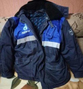 куртка зимняя газпром.