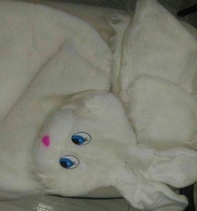 Карнавал Новый Костюм зайчик-девочки с юбкой