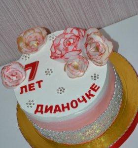Тортик '3 шоколада'