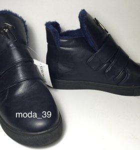 ботинки сапоги обувь женская зимняя 35-41