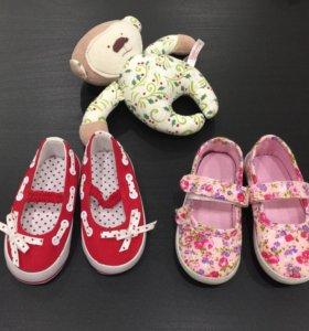 Туфли Mothercare новые 19 размер