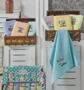 Набор кухонных полотенец, новый