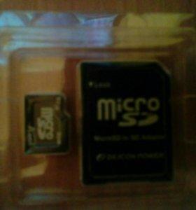 SD-card 1G+адаптер