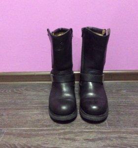 Ботинки кожаные 39-40