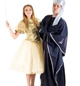 Костюмы для аниматоров «Волшебница и колдун»