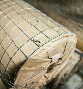 Сетка стальная сварная ширина 1,2 м., длина 15 м.
