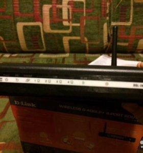 Модем роутер DLink DSL 2640U
