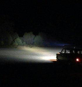 светодиодная балка фара птф люстра нива уаз