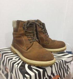 Ботинки зимние «Зебра»