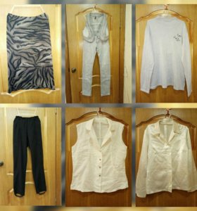Юбка, джинсы, рубашка, брюки 44-46