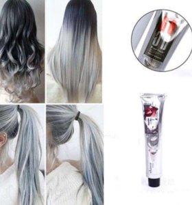 Краска для волос(пепельный цвет)