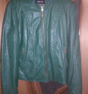 Новая куртка кожзам...