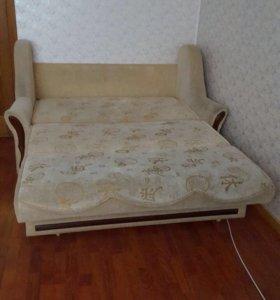 Двухспальный раскладной диван