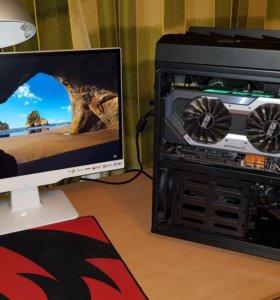 Игровой компьютер core i7 6700 и Geforce GTX 1080