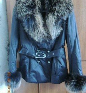 Зимняя куртка б\у