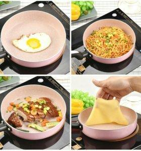 Сковородка с каменным покрытием диаметр 24