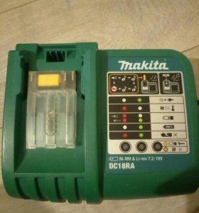 Зарядное Makita DC18RA Li-Ion, DC18RC