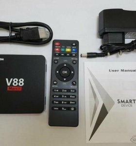 Андроид мини пк v88 mars II новый