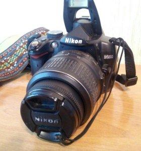 Фотоаппарат зеркальный Nikon D5000