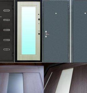Входная металлическая дверь 3 (Венге светлый)