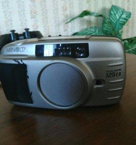 Пленочные фотоаппараты canon и minolta