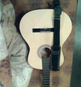 Гитара и ремень