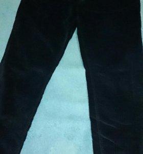 Брюки женские AJC велюровые темно-синие