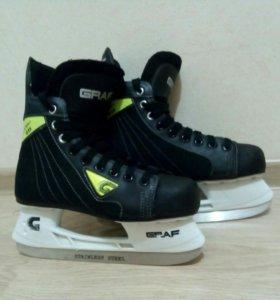 """Коньки хоккейные """"GRAF Super 035"""""""