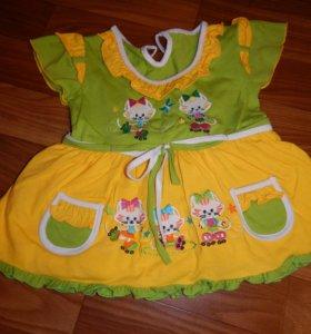 Платье до года