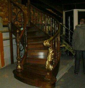 Лестницы.Монолит.Комбинированные.Деревянные.