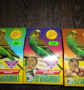Корм для попугаев Бриллиант