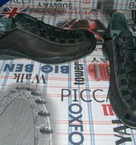 Merell новые кожаные полуботинки, 43,5 размер.