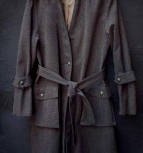 Пальто шерсть новое Kookai Франция