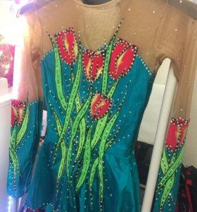 Платье для гимнастки