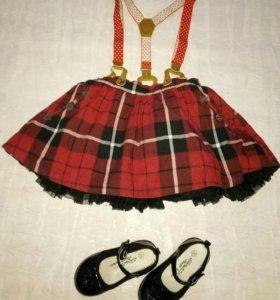 NEXT юбка с подъюбником пышная!