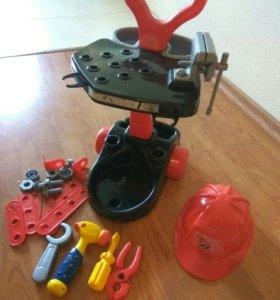 Набор механика (конструктор для мальчика) верстак