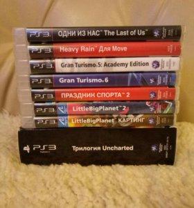 Игры PlayStation 3 продам лицензия от