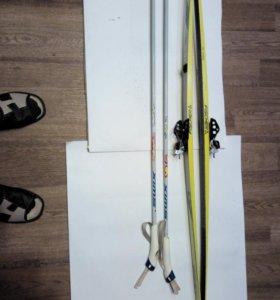 Лыжи подростковые Fischer Австрия.