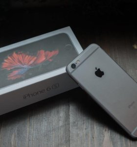 Айфон 6s .32 гб.серый космос.