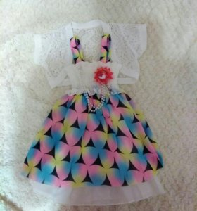 Платье праздничное на девочку!🌷