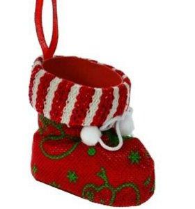 Новогодние носки и конфетница