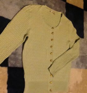 Блузка мятного цвета 48